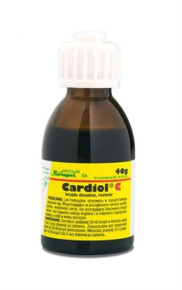 Cardiol C krople 40 g (butelka)