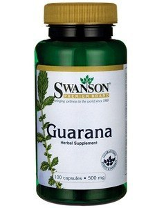 Guarana 500mg 100kaps. SWANSON