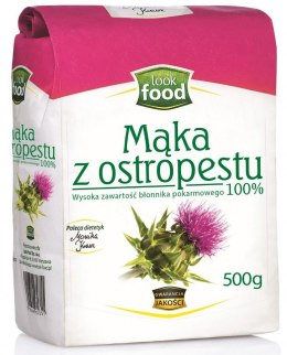 Mąka z ostropestu 500g LOOK FOOD