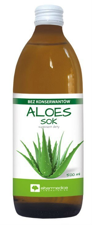 Aloes 100% Sok 1000ml ALTER MEDICA